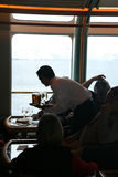 Polar cruising, bar service Stock Images