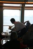 Polar cruising, bar service Stock Images