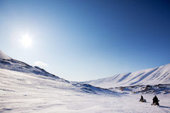 Polar Expedition Stock Photo