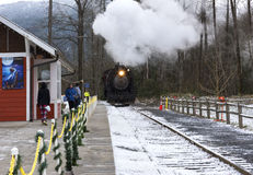 Polar Express Scenic Ride Royalty Free Stock Images