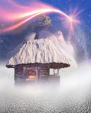 Polar fairy houses Royalty Free Stock Photo