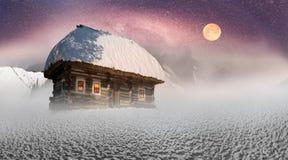 Polar fairy houses Royalty Free Stock Photo