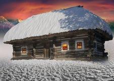 Polar fairy houses Royalty Free Stock Photography