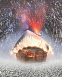 Polar fairy houses Stock Photography