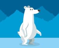 Polar habitat related icons image. Bear and polar habitat related icons image  illustration design Royalty Free Stock Image