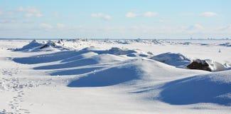 Polar landscape Stock Photo
