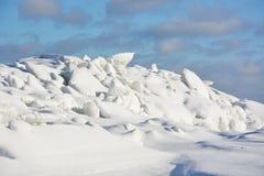 Polar landscape Stock Photography