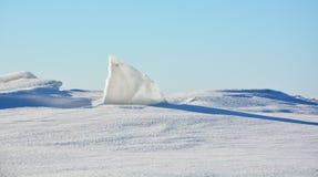 Polar landscape Royalty Free Stock Photography