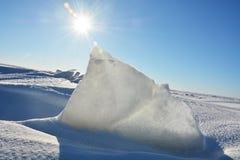 Polar landscape Royalty Free Stock Photo