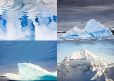 Polar landscapes reflected in water Stock Photography