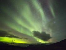 Polar lights (aurora borealis) Royalty Free Stock Photo