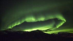 Polar lights (aurora borealis) Stock Photo