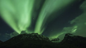 Polar lights (aurora borealis) Stock Images