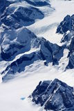 Polar mountain tops Stock Images