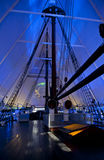 The Polar Ship Fram. OSLO, NORWAY - AUGUST 27, 2016: The Polar Ship Fram at the Fram Museum in Oslo stock photos