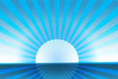 Polar sun Royalty Free Stock Images