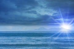 Polar sun Stock Images