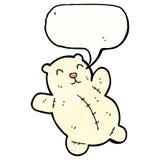polar teddy bear cartoon Royalty Free Stock Photos