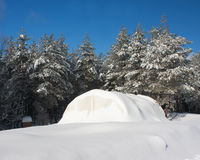Polar Tent Royalty Free Stock Images