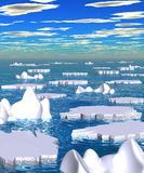 Polar_thaw_00.jpg Royalty Free Stock Image