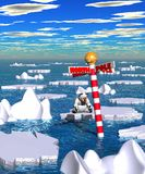 Polar_thaw_02.jpg Royalty Free Stock Photography