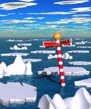 Polar_thaw.jpg Stock Photo