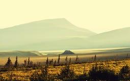 Polar tundra Stock Photos