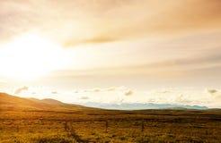 Polar tundra Stock Image