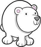 polar vektor för björn Arkivfoton