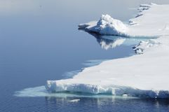 Polar waters Stock Photo