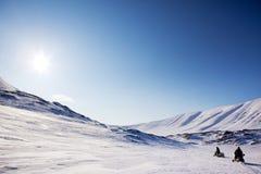 Polare Expedition Stockfoto