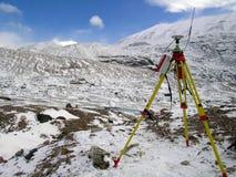Polare Forschung Stockfotografie