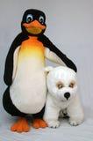 Polare Freunde lizenzfreies stockfoto