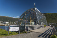 Polaria - polares Museum Stockfotografie