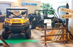Polaris ATV on display. Stock Image
