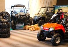 Polaris ATV on display. Royalty Free Stock Photos