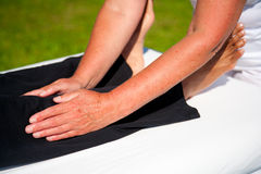 Polarity massage Royalty Free Stock Photo