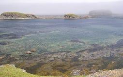 Polarización subacuática Imagen de archivo libre de regalías