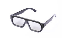 Polarized 3D glasses Royalty Free Stock Images