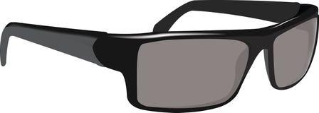 Polarized glasses dark antiglare Royalty Free Stock Images