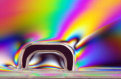Polarized light stock illustration