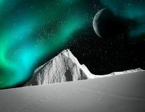 Polarlichter, Aurora stockfotografie