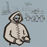 Polarman Arkivfoton
