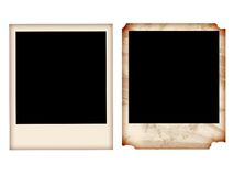Polaroïd Photographie stock libre de droits