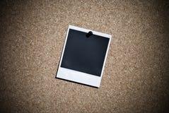 Polaroïd de cru Photographie stock libre de droits