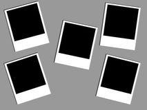 Polaroïd de photo Images libres de droits