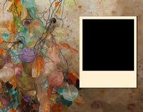 polaroid πλαισίων ανασκόπησης φθινοπώρου Στοκ Εικόνες