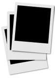 polaroid πλαισίων 2 ταινιών απεικόνιση αποθεμάτων