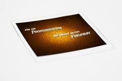 Polaroid 001-130416 Zdjęcie Royalty Free