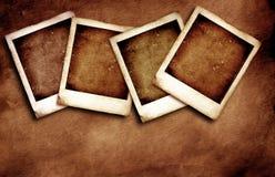 Polaroid. Vintage Polaroid frames, 2D illustration Stock Photo
